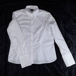 Lands' End Tops - Lands' End Oxford White Shirt